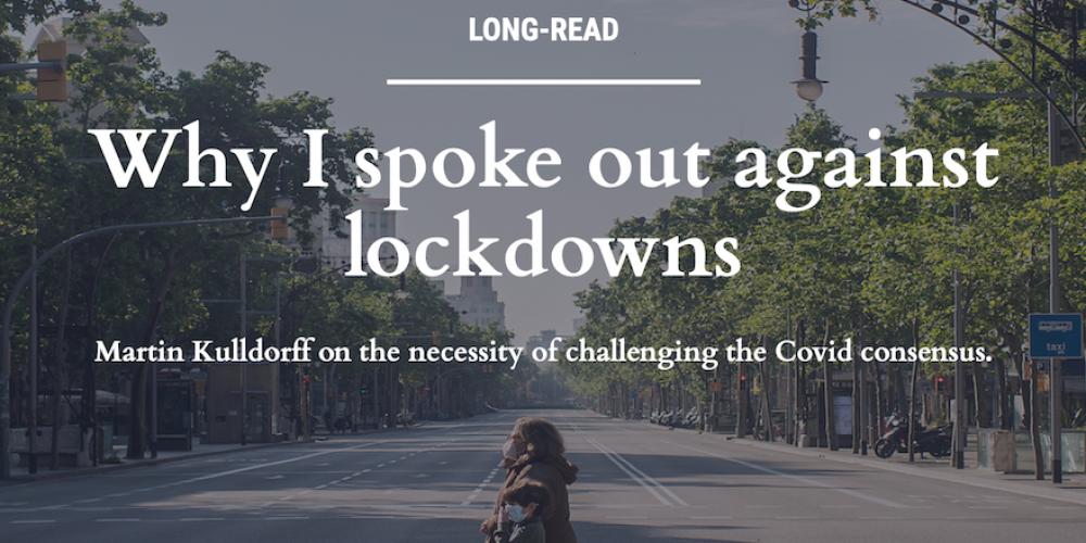 Un prestigieux épidémiologiste de Harvard «Pourquoi je me suis opposé aux confinements»