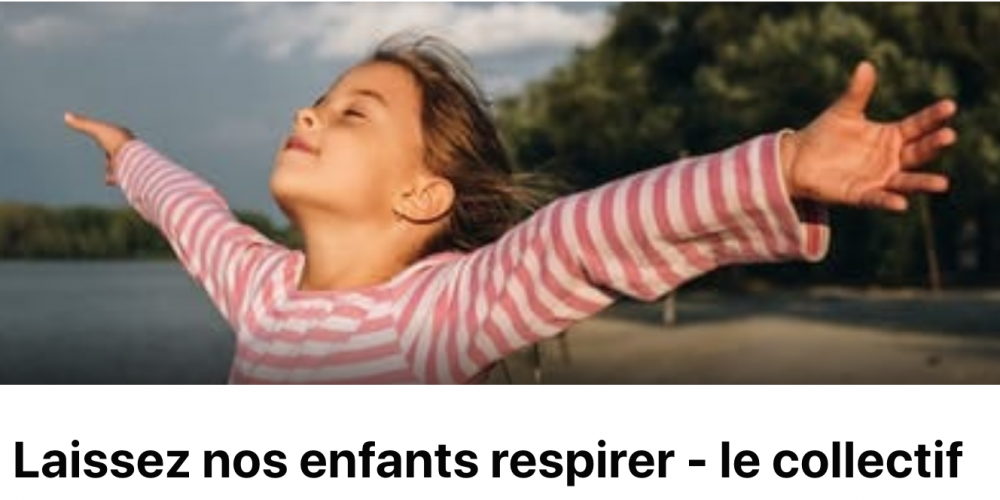Collectif « Laissons nos enfants respirer »