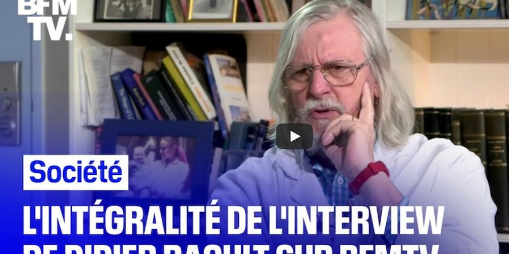 Pr Didier Raoult : l'interview du 16 avril sur BFM