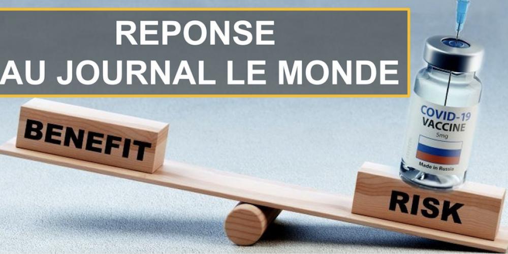 Risques du vaccin: Réinfo Covid répond au journal Le Monde