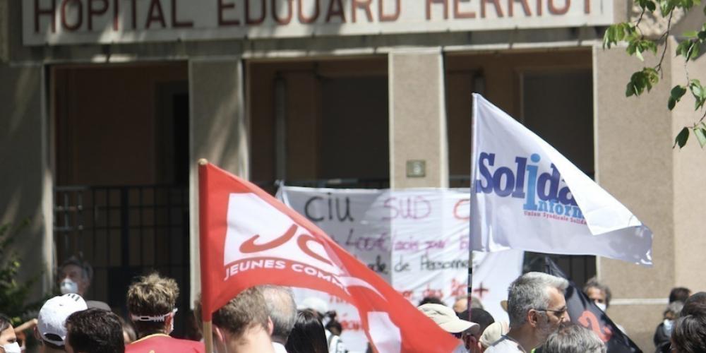 Lyon: préavis de grève contre la vaccination obligatoire