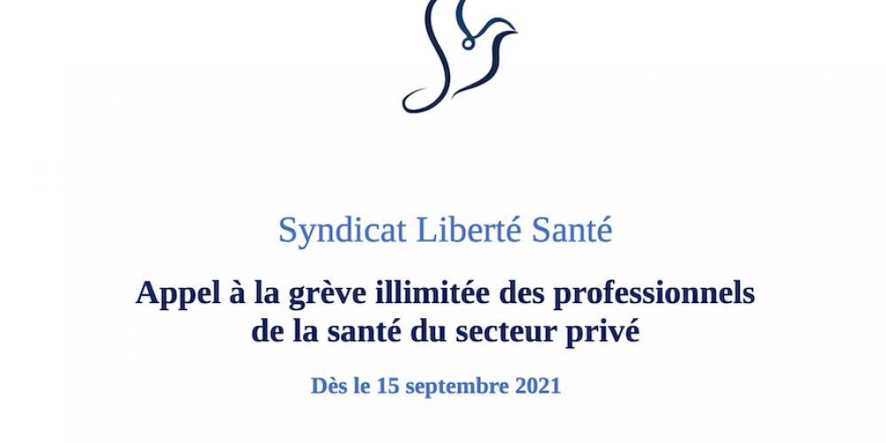 France : appel à une grève des soignants contre l'obligation vaccinale