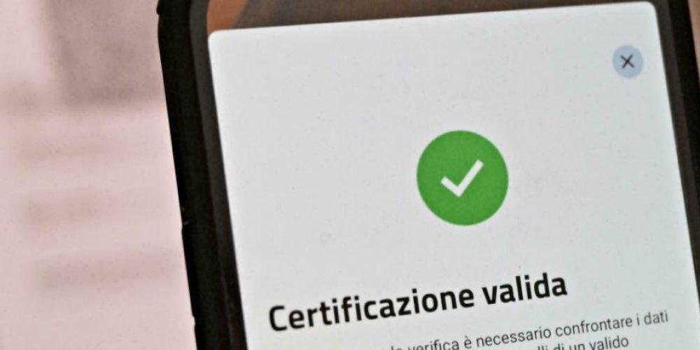 L'Italie soumet tous les travailleurs au Green Pass