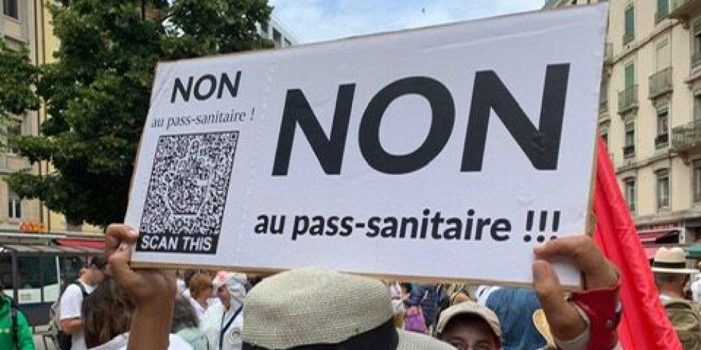 Passe sanitaire en France: mosaïque de résistances